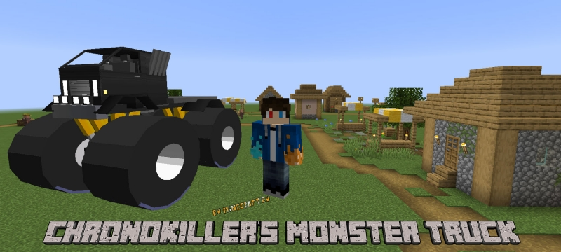 Chronokiller's Monster Trucks Mod - монстр-траки[1.16.5] [1.15.2]