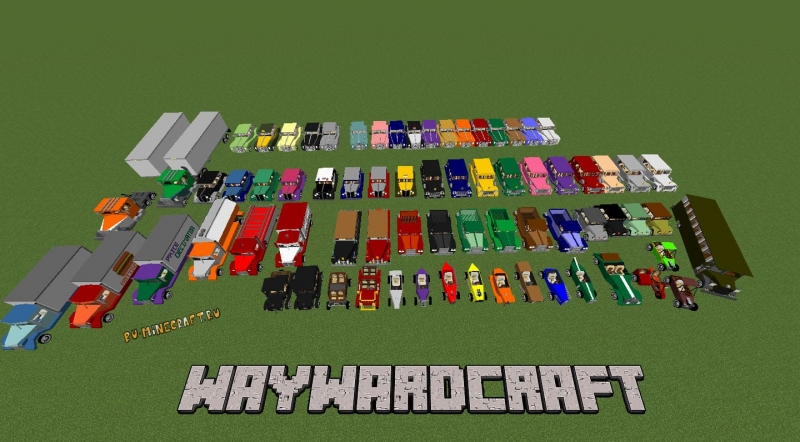 Waywardcraft  - пак ретро машин и самолетов [1.12.2]