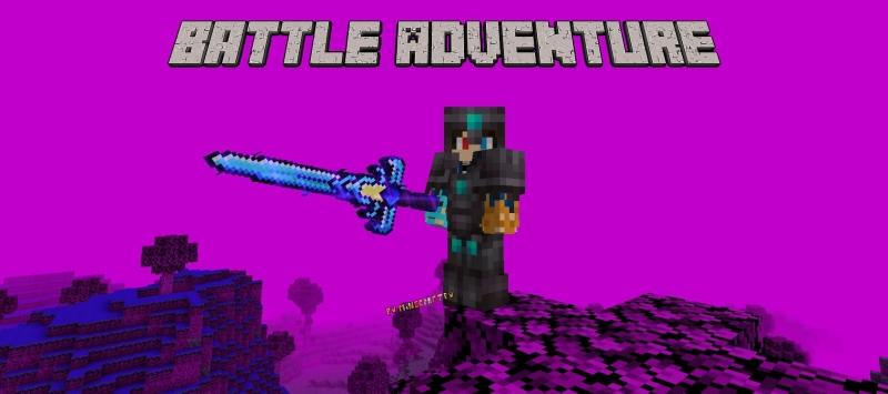 Battle Adventure - простое измерение, новое снаряжение [1.16.5]