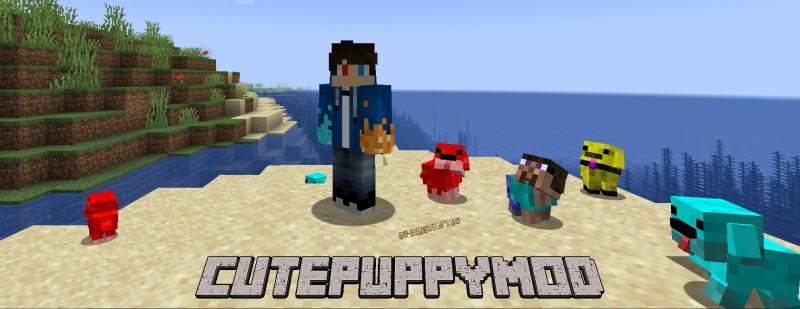 CutePuppyMod - щенки [1.16.5] [1.12.2] [1.10.2] [1.7.10]
