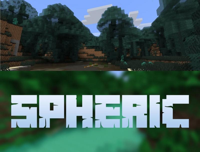 Spheric - несколько новых биомов [1.16.5]