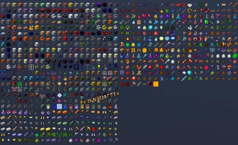 TerraCraft Journey - мир Террарии в Майнкрафте [1.16.5] [1.15.2]