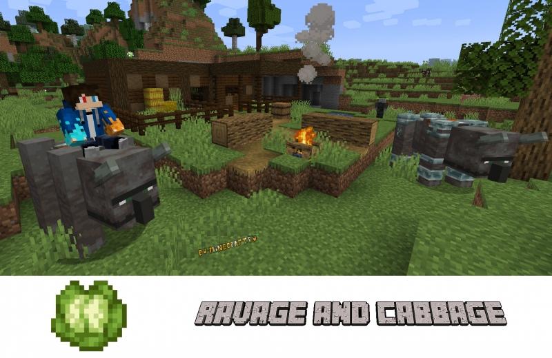 Ravage & Cabbage - приручение разорителя и капуста [1.16.5]