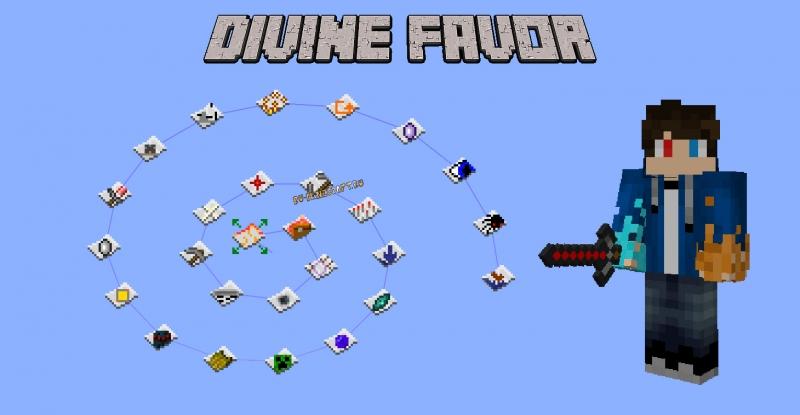 Divine Favor - магия духов [1.12.2]
