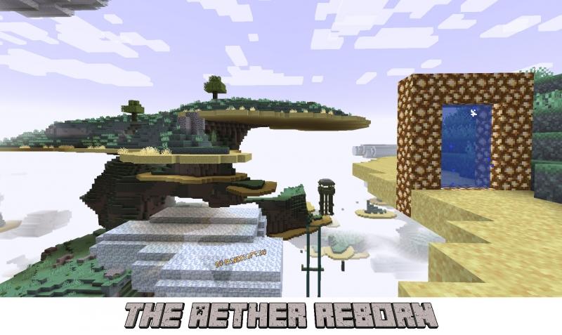 The Aether Reborn - измерение Рая [1.17.1] [1.16.5]
