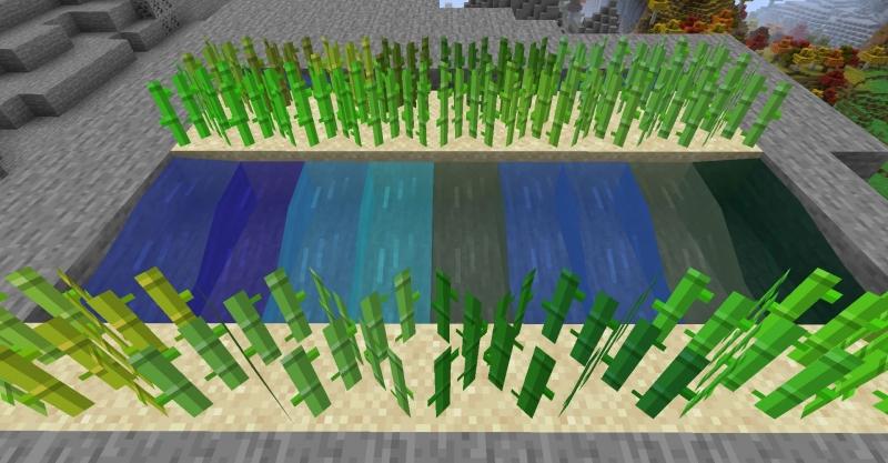 Artificial Foliage - листва, трава, вода разных цветов не зависимо от биома [1.17.1] [1.16.5]