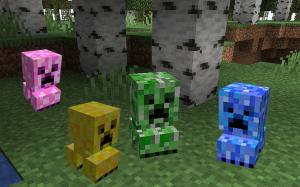Mini Creepers Pets - мини криперы питомцы [1.16.5] [1.15.2] [1.14.4]