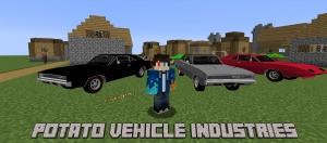 Potato Vehicle Industries - реалистичные классические машины [1.12.2]