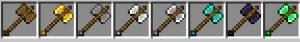 Many Different Weapons - новое оружие и броня [1.12.2]