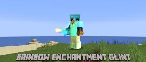 Rainbow enchantment glint - зачарованные вещи переливаются радугой [1.16.5] [1.15.2] [1.14.4] [16x]