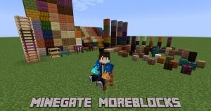 MineGate · MoreBlocks - больше видов стандартны блоков [1.17.1] [1.16.5]