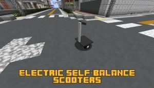 Electric Self-balance Scooters - электроскутер [1.16.5]