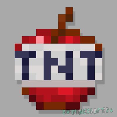TNT Foods Mod - мод с едой-динамитом [1.16.5]
