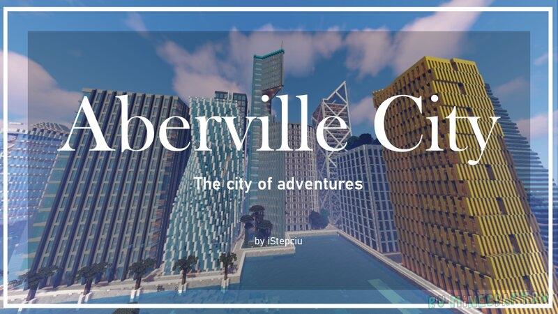 Aberville City Republic - футуристичный город [1.17] [1.16.5]
