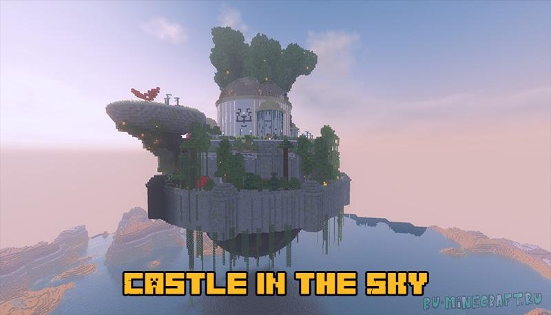 Castle in the Sky - красивый замок в небе [1.17.1] [1.16.5]