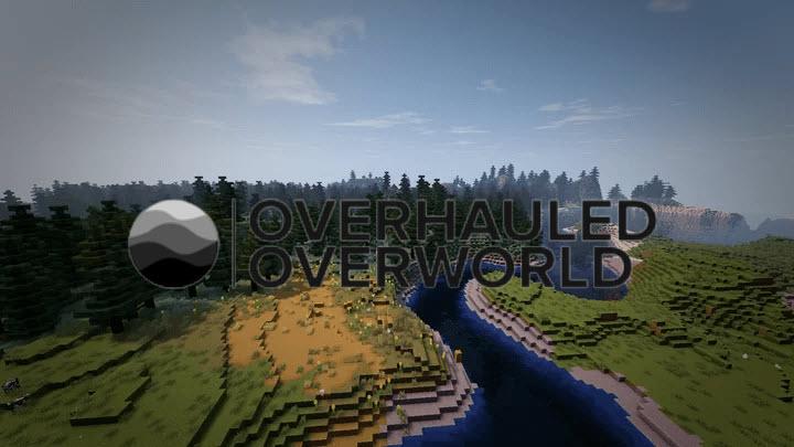 William Wythers' Overhauled Overworld - переработанный мир игры [1.17.1] [1.16.5]