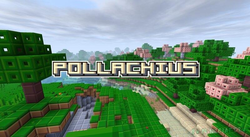 Pollachius - яркий ресурспак 8х8 [1.17] [1.16.5] [1.8.9] [8x]