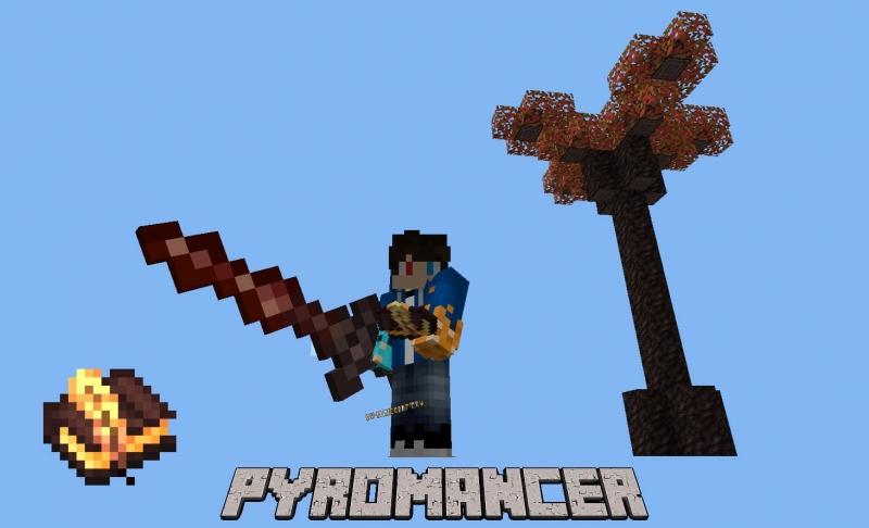 Pyromancer - пиромантия, оружие, босс [1.16.5]
