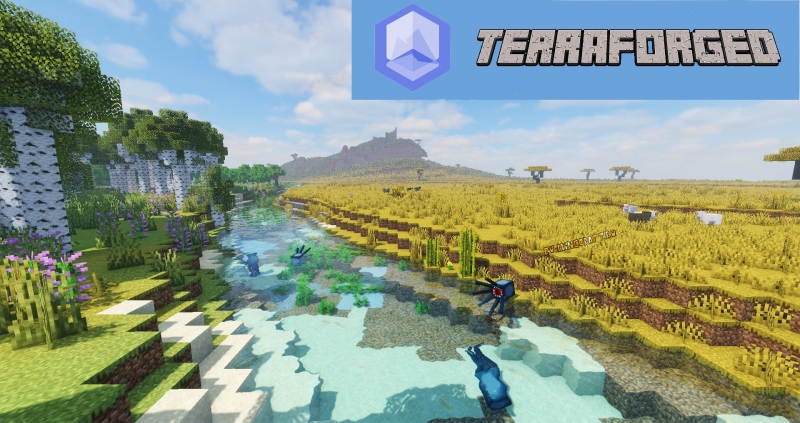 TerraForged - супер реалистичная генерация мира [1.16.5] [1.15.2]