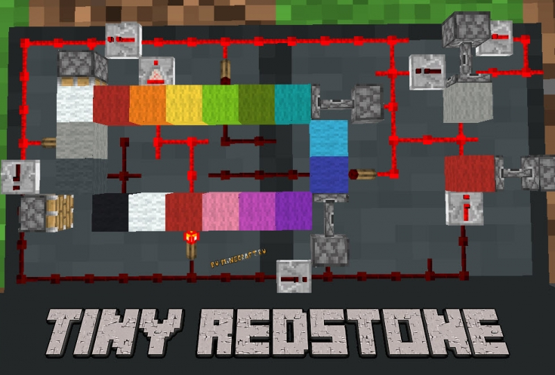 Tiny Redstone - компактные схемы редстоуна [1.16.5]