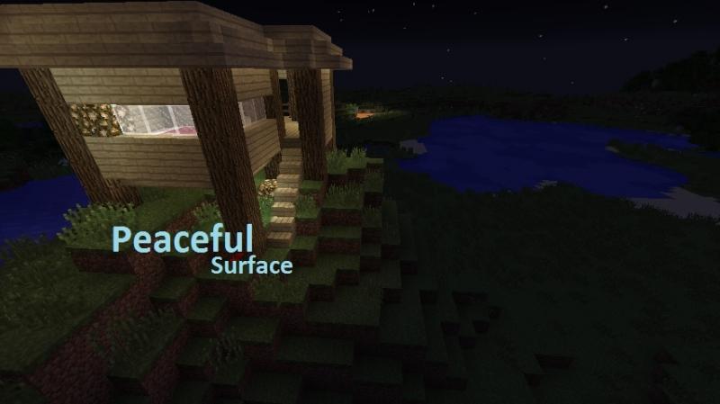 PeacefulSurface - нет злых мобов на поверхности [1.17] [1.16.5] [1.15.2] [1.14.4] [1.12.2] [1.7.10]