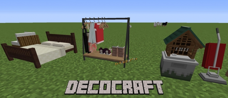 DecoCraft - Много декора, игрушки, куклы [1.12.2] [1.11.2] [1.10.2] [1.8.9] [1.7.10]