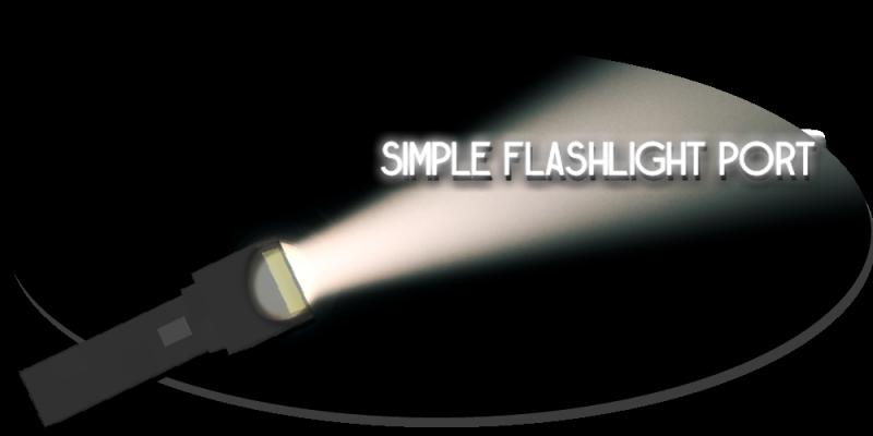 Simple Flashlight Port - Рабочий фонарик [1.16.5] [1.12.2]