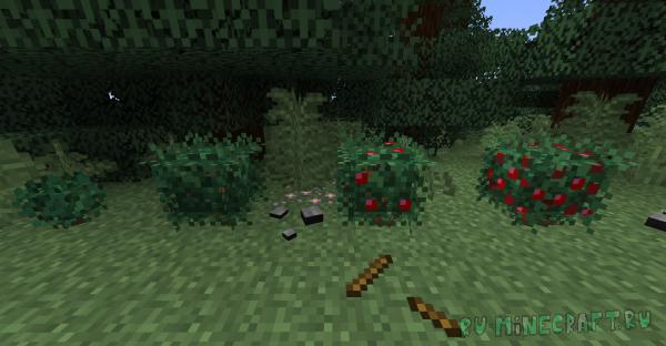 Ресурспак для версии 1.16+ улучшающий визуальную составляющую растений. [BETA]