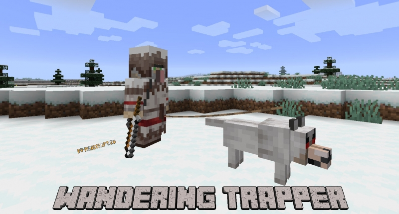Wandering Trapper - странствующий охотник [1.16.5] [1.15.2] [1.14.4]