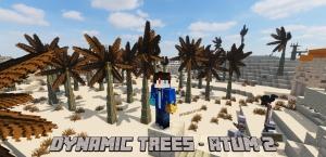 Dynamic Trees - Atum 2 - реалистичные деревья мода Atum 2 [1.16.5] [1.12.2]