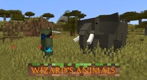 Wizard's Animals - животные, насекомые реального мира [1.16.5] [1.15.2] [1.12.2]