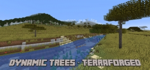 Dynamic Trees - TerraForged - реалистичные деревья в реалистичном мире [1.16.5]