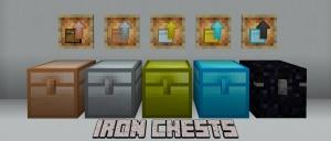 Iron Chests - Новые сундуки [1.17.1] [1.16.5] [1.15.2] [1.14.4] [1.12.2] [1.7.10]