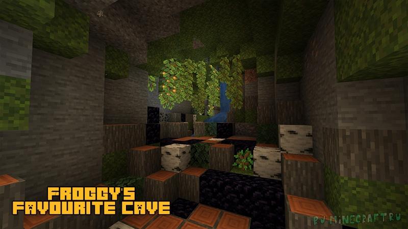 Froggy's favourite cave biome - новый подземный биом [1.17.1]