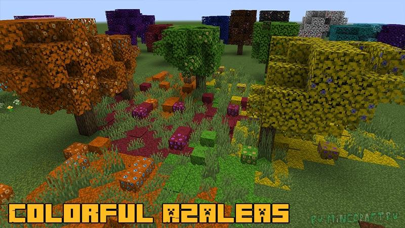 Colorful Azaleas - разноцветные деревья [1.17.1]
