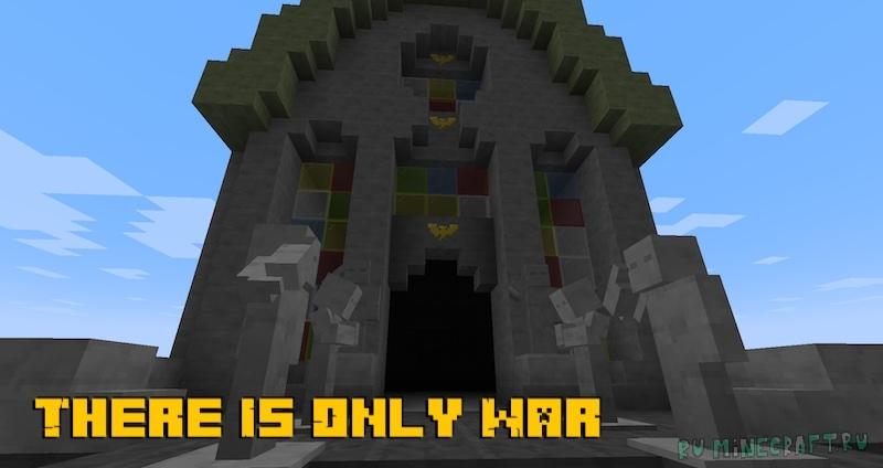 There Is Only War - Вархаммер в майнкрафте [1.17.1]