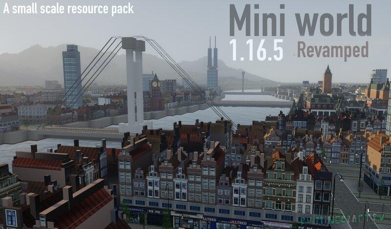 Mini world - текстуры для города [1.17.1] [1.16.5] [512x]