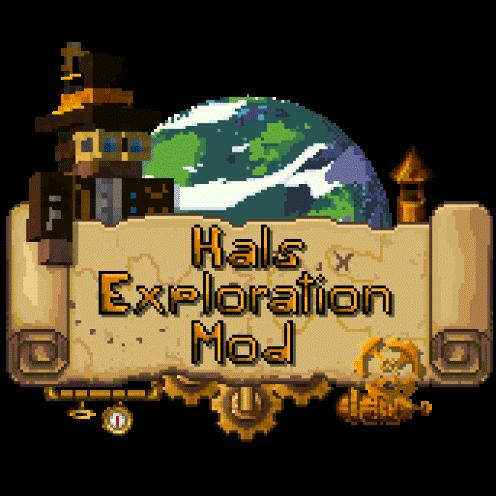 Hals Exploration Mod - путешествия в новые измерения [1.16.5]