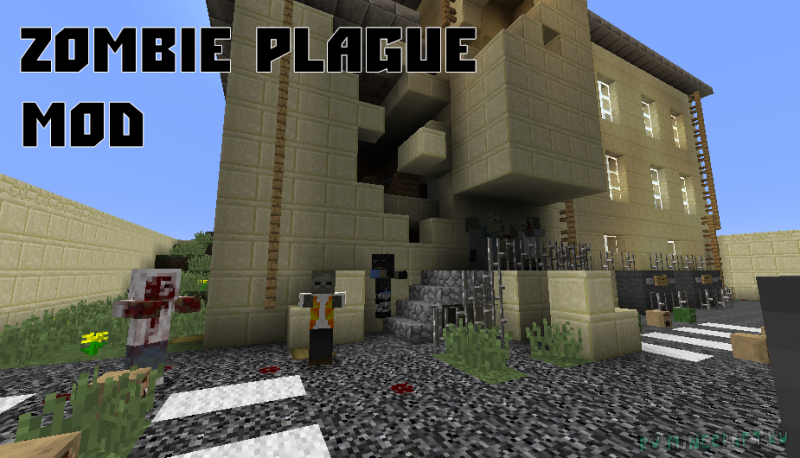Zombie Plague Mod - зомби, оружие, хардкор [1.8.9]