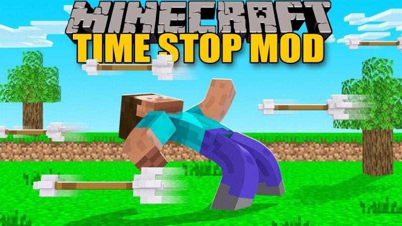 The Time Stop Mod - остановка, замедление, ускорение времени игры [1.12.2]