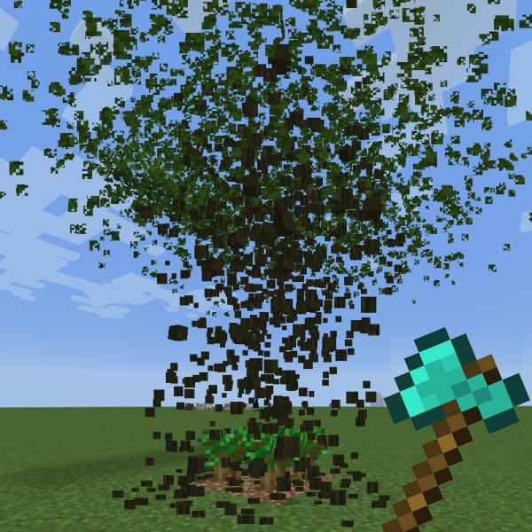 Tree Harvester - быстрая рубка деревьев с посадкой [1.17.1] [1.16.5] [1.15.2] [1.14.4] [1.12.2]