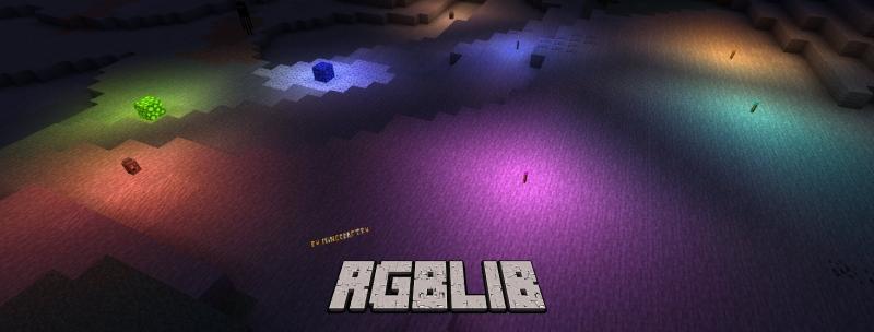 RGBLib - свет разных цветов [1.17.1] [1.16.5] [1.15.2]