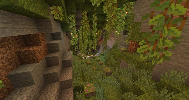 Обновление Майнкрафт 1.18 - пещеры и скалы, что нового