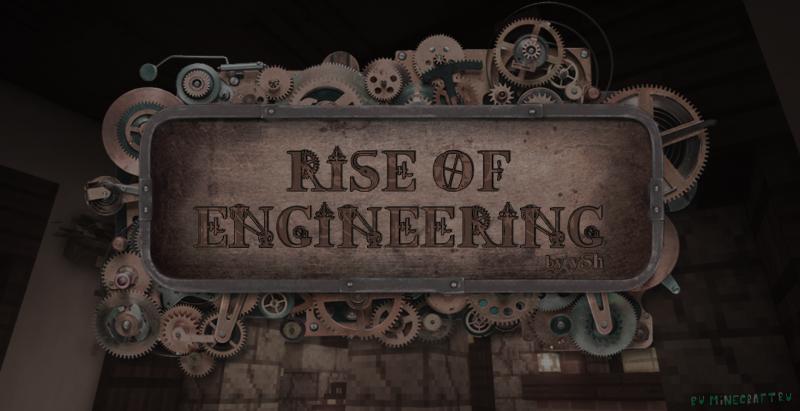 Rise of Engineering - Техническая сборка с квестами [1.16.5]