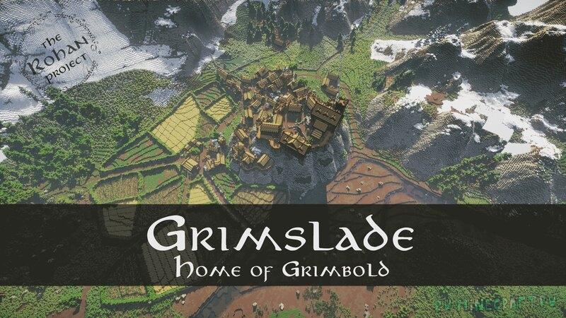 Grimslade - большая деревня среди красивой природы [1.17.1]