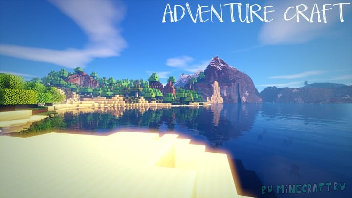 Adventure Craft - реалистичный ресурспак [1.17.1] [1.12.2] [1.10.2] [32x]
