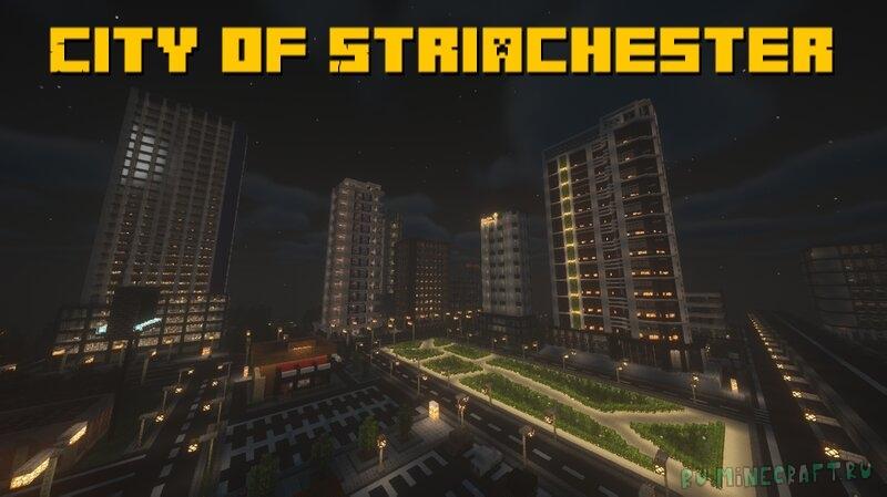City of Striachester - современный небольшой город [1.17.1]