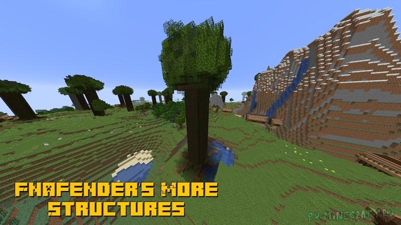 Fnafender's More Structures - три новых структуры [1.16.5]