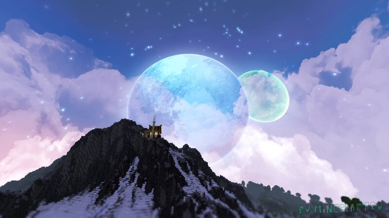 Grimdark Sky Pack - небо в стиле фентези [1.17.1] [16x]
