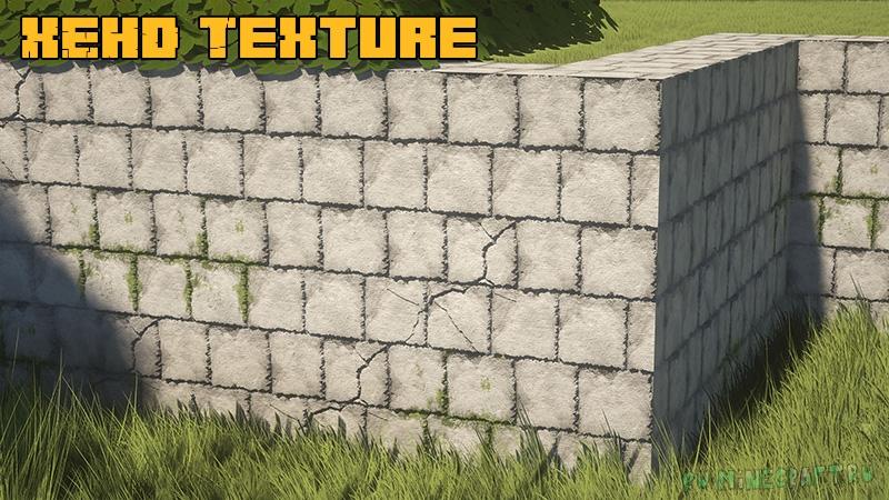 XEHD Texture - красивые реалистичные текстуры [1.17.1] [1.16.5] [1.15.2] [256x]